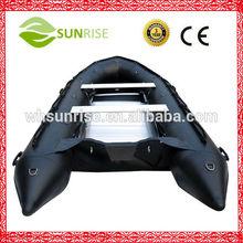 290 Aluminum Inflatable Pontoon Boats Weihai Supplier