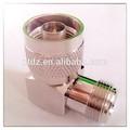 n a bnc plug jack de intercomunicación de vídeo xlr cable coaxial de rf conector del adaptador