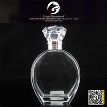 Precision compression pyramid shaped perfume bottle