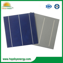 Polycrystalline Solar Cells 6X6 Solar Panel Price India 156X156mm 3BB Solar Photovoltaic Cells For Sale