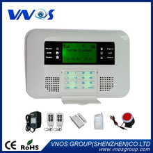 Top level hot-sale pstn dual network home alarm gsm system