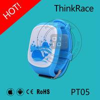 Thinkrace best selling 2015 sos panic button watch gps tracker PT05