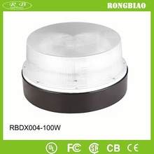 General Purpose Recessed 5000K 85-277V Polycarbonate Cover Induction 100W Round Shape Induction Lighting