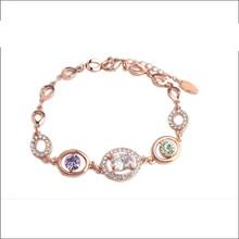 Wholesale Alibaba Fashion Design Bracelet Jewelry Personalized Copper Bracelet HSL-136