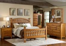 2015 Top Grain wooden morden style furniture bedroom design