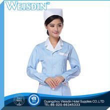 OEM service Guangzhou wholesale clothing linen nurse printed fleece fabric