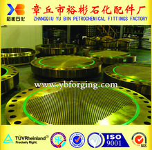 percision cladding metal 316L+SA266 tube sheet for heat exchanger