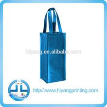 silver blue laminated non woven bag
