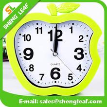 Apple shaped smart clock quartz clock