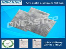 small aluminum foil zip lock bags