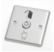 801E Stainless Steel Door Release Key Switch