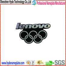 brand plastic custom 3d chrome logo car emblem