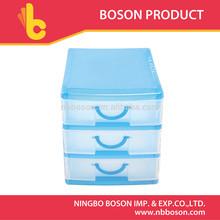 13*11.5*9cm plastic storage 3 drawers,storage drawers,mini plastic storage drawers