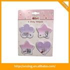 Hot sales Onzing star shape sticky note, sticky note, sticky note set