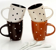 2015 new design promotional gift colorful coffee mug,hand painted coffee mugs,coffee mug gift set