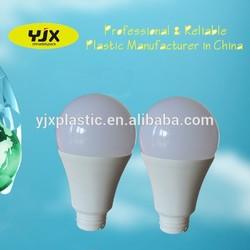 A60 LED pc light bulb parts plastic cover