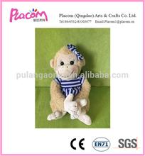 Plush Girl Monkey