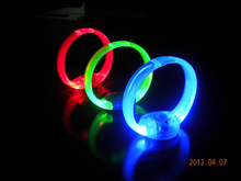 sound controlled led wristband HOT sell 2015 for night party/wedding/concerts
