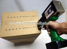 hand jet printer/mobile ink jet printer/carton box hand held inkjet
