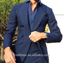 Noble lapel bespoke suit for men