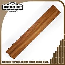 The peacock rosewood waterproof interlocking pvc vinyl flooring plank
