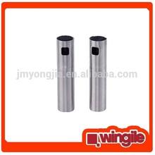 Stainless steel oil and vinegar spray bottle