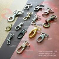 Shiny Nickel Sliver Belt Hook Metal Clasp for Dog Collars