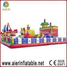 Huge inflatable fun land,18 meter square trampoline big bouncer