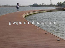 High quality waterproof Mildew wpc solid decking/wpc flooring