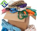 Pp/polietileno/nylon/cordas de poliéster/cordéis e corda trançada