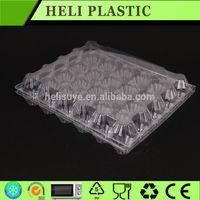 Disposable PVC bulk egg cartons for sale/plastic packaging for eggs