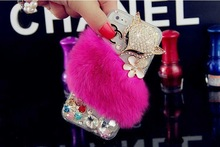 New Fashion Cute Anusol pearl crown floret for iphone 6 case