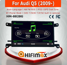 HIFIMAX 6.5''WIN CE 6.0 Car DVD Player For Audi Q5 2009 onward Car Stereo