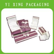 2015 new gift box fashion magenta paper jewelry box ,jewelry box