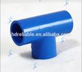 Upvc plástico pvc descer tee, branco, azul, t igual, encaixe de tubulação, plástico acessóriosparatubos