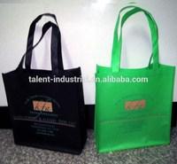 recycled pet bottles non woven bag/pet non woven shopping bag/PET non woven bag