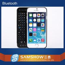 Оптовая продажа много купить телефоны клавиатура Bluetooth Klaviatuur 4.7 пластиковые подсветкой слайд чехол беспроводная связь Bluetooth клавиатура для Iphone