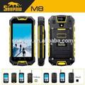 Snopow m8 ip68 impermeável walkie talkie 4.5 polegadas quad core android 4.4.2 nfc e carregador sem fio telefones móveis para a europa