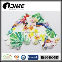 2015 Newest flower sublimated glove for womens