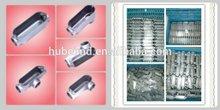 c types conduit connector,Aluminum,gray