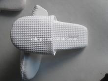 2015 classic white waffle washable closed toe hotel slipper,non-disposable,disposable