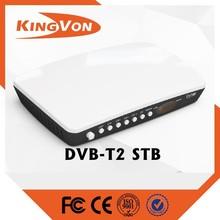digital tv tuner box formart dvb t2 /t FTA receiver