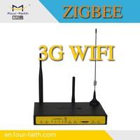 F8434 smart home automation wireless zigbee smart home zigbee router 3g wifi router