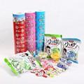 Jc dulces de acrílico embalaje pouchs/cine, al vacío de alimentos bolsas de embalaje para la venta, lamina& de impresión