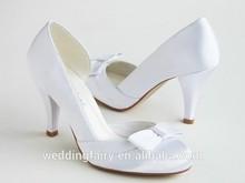 Wholesale high quality latest design lady shoes wedding bridal shoes