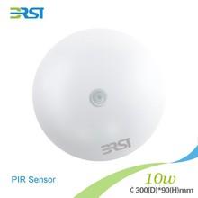 2015 new high brightness Functional ceiling light:P-IR sensor 10W 75lm/w CRI>72Ra ceiling led lamp light