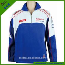 Ladies high quality racing team fleece hoodies