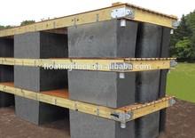 Concrete floating dock Filled with Polystriren foam