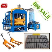 Dongyue QT4-15C AUTO coal dust brick making machine