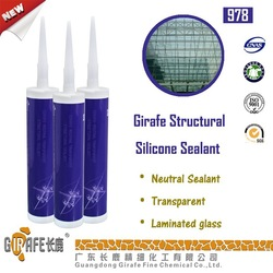 Girafe Neutral Transparent Structural Sealant